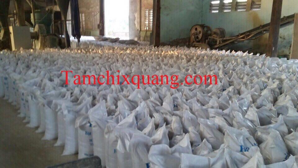bột barit cản xạ xquang