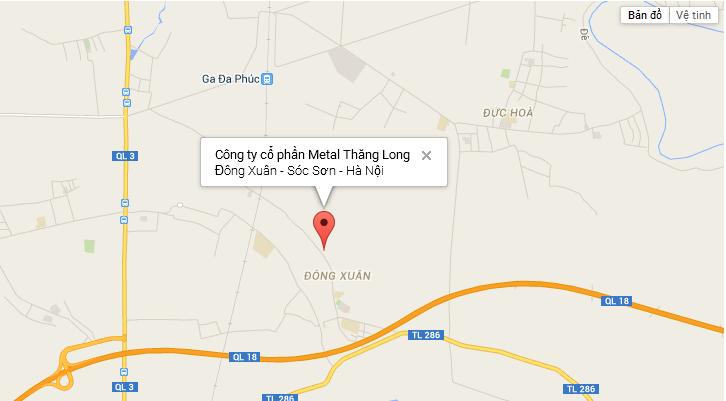 Công ty cổ phần Metal Thăng Long