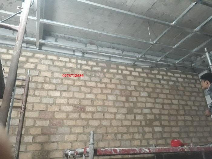 xây gạch barit bệnh viện thu cúc linh đàm